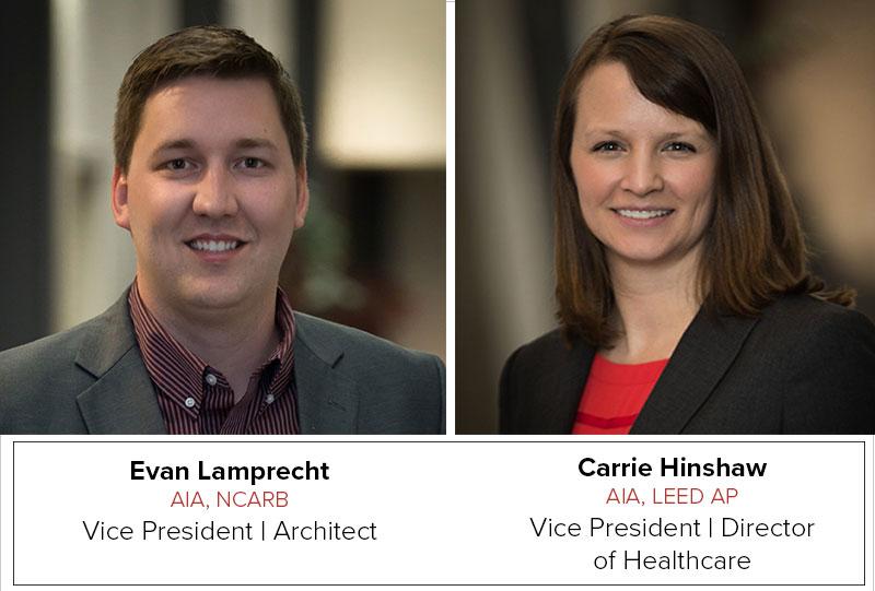 Evan Lamprecht and Carrie Hinshaw