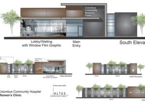 Columbus Community Hospital Women's Clinic Renderings