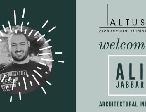 Ali Salman Jabbar to Spend Internship with Altus Architectural Studios